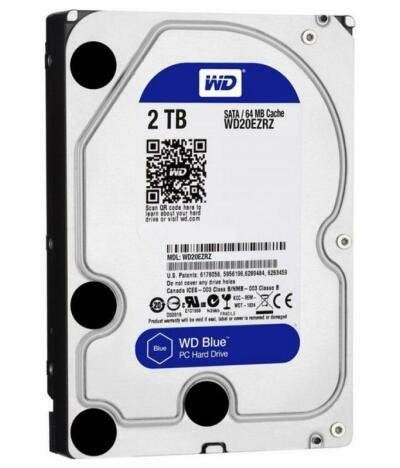 HDD Intern Western Digital 2TB WD20EZRZ